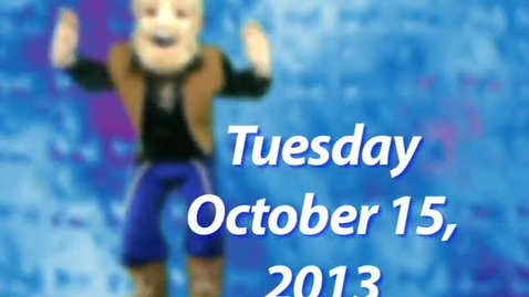 Thumbnail for entry Tuesday, October 15, 2013