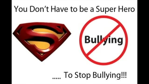 Thumbnail for entry You Don't Have to be a Hero to Stop Bullying!
