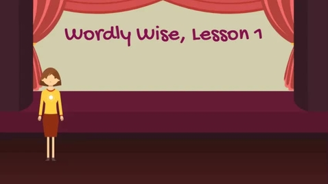 Thumbnail for entry WW Lesson 1 p 3 words