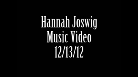 Thumbnail for entry Music Video Project