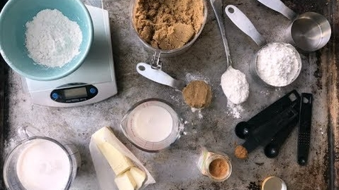 Thumbnail for entry HOW TO MEASURE FOR BAKING   weight vs volume measurements, measuring flour properly