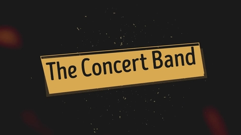 Thumbnail for entry Concert Band Spring 2021