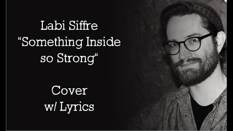"""Thumbnail for entry G.F. Patrick - """"Something Inside So Strong"""" - Labi Siffre Cover"""