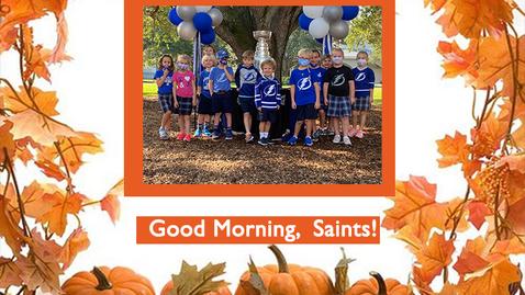 Thumbnail for entry Saints @ 8 - November 2, 2020