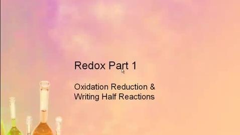 Thumbnail for entry AP Chem Redox Part 1