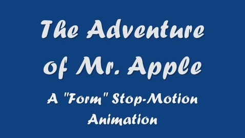 Thumbnail for entry The Adventure of Mr. Apple
