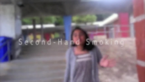 Thumbnail for entry Second-Hand Smoking: Andrea Solis, Sophie Jo