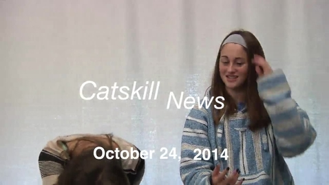 Thumbnail for entry Catskill News Announcements 10.24.14
