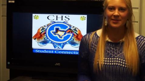 Thumbnail for entry CHS School News  11-12-15