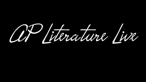 Thumbnail for entry AP Literature