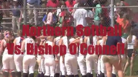 Thumbnail for entry Softball vs. Bishop O'Connell