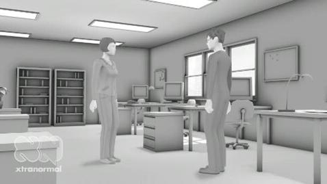 Thumbnail for entry Xtranormal Office Jokes