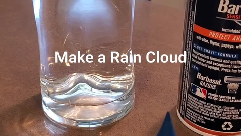 Thumbnail for entry Make a Rain Cloud