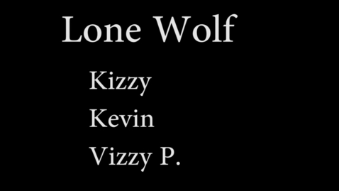 Thumbnail for entry Lone Wolf (WSCN 2014)