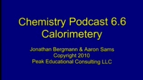 Thumbnail for entry Energy 3 Calorimetry