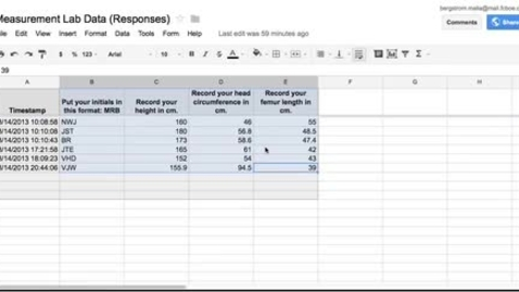 Thumbnail for entry Measurement Lab Spreadsheet How-tos