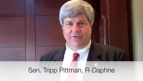 Thumbnail for entry Students First - Sponsor Sen. Pittman Explains the Bill
