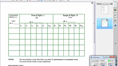 Thumbnail for entry making a data table with Microsoft Word