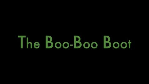 Thumbnail for entry Boo Boo Boot