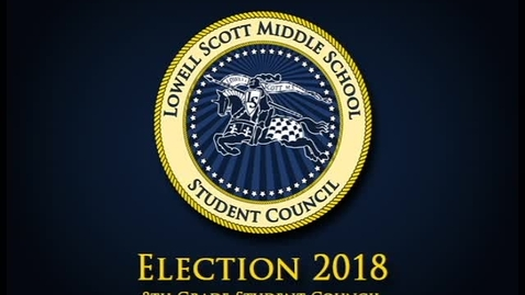 Thumbnail for entry 2018 Election - 8th Grade