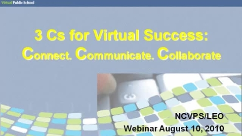 Thumbnail for entry DLC Training August 10, 2010