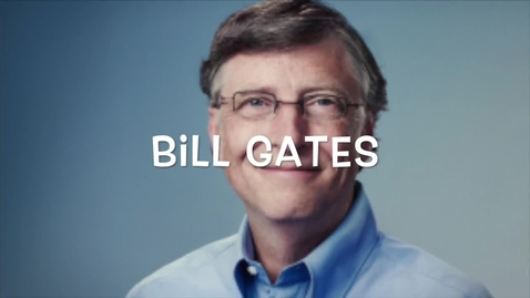 Thumbnail for entry Legends with a Voice project - Bill Gates