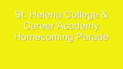 Thumbnail for entry St. Helena Homecoming Parade
