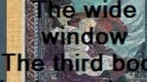 Thumbnail for entry The wide window