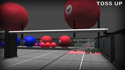 Thumbnail for entry VEX Toss Up in Robot Virtual Worlds