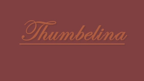 Thumbnail for entry Thumbelina