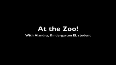 Thumbnail for entry Kindergarten Visits the Zoo!
