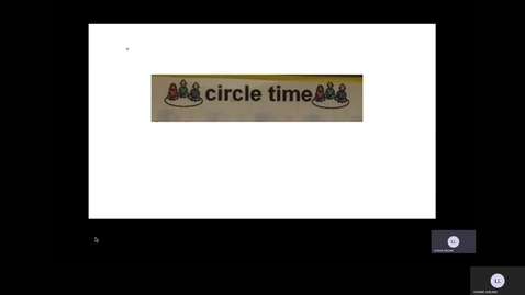 Thumbnail for entry Circle time July 7, 2020
