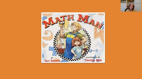 Thumbnail for entry Math Man ~ A Picture Book Read Aloud for ages 6-9