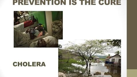 Thumbnail for entry Cholera Prevention