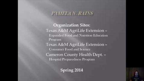 Thumbnail for entry Final Internship Video Presentation HLTH 684