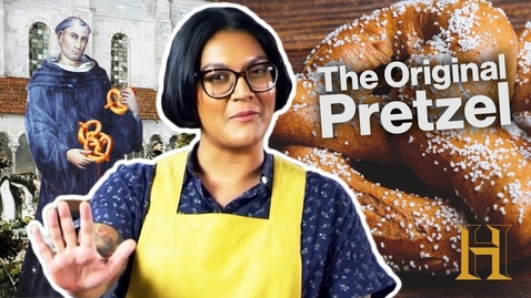 Thumbnail for entry The Best Pretzel Recipe Ever is from 1111 AD | Ancient Recipes With Sohla