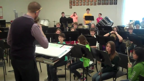 Thumbnail for entry Big Rapids Middle School Band 8th grade