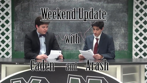 Thumbnail for entry Weekend Update with Caden and Arash