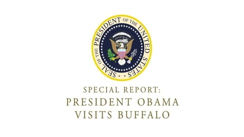 Thumbnail for entry President Obama Visits Buffalo