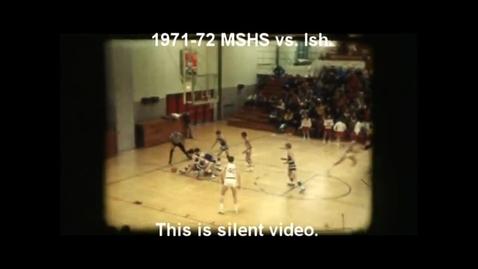 Thumbnail for entry 1971-72 Marquette Senior High School basketball vs. Ishpeming