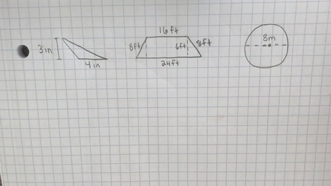 Thumbnail for entry Mr. Lamarre's Extra Help: Area of Triangles, Trapezoids, and Circles