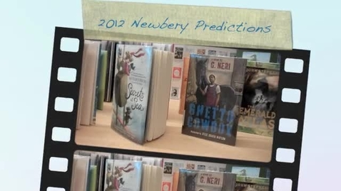Thumbnail for entry 2012 Newbery Predictions