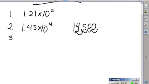 Thumbnail for entry Stephens Chemistry: (9/4/15) Scientific Notation ws