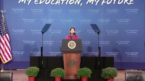 Thumbnail for entry The President's Back to School Speech - Sept 14, 2010