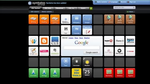 Thumbnail for entry How to add RSS feeds to Symbaloo
