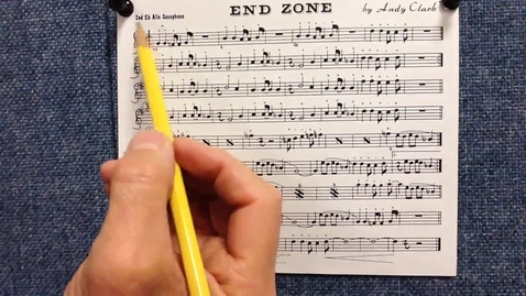 Thumbnail for entry End Zone 2nd alto sax pt 1