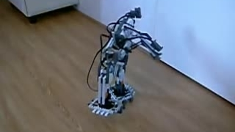 Thumbnail for entry LEGO Mindstorms NXT Biped Walker