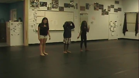 Thumbnail for entry Shape Choreography 9-11-15 7th period 6th grade Group L S HP