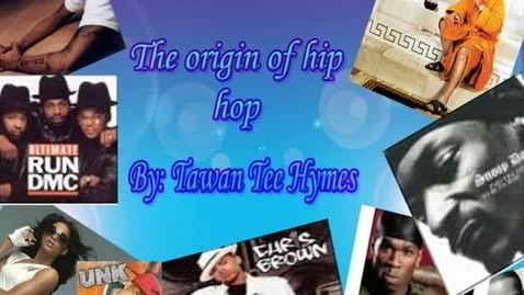 Thumbnail for entry The Origin of Hip Hop - WSCN 2006 Throwback