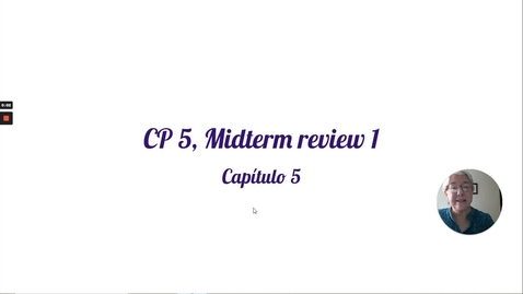 Thumbnail for entry CP 5 MIDTERM REVIEW 1